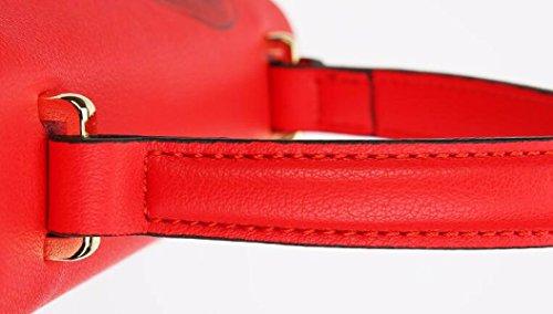 De Bolso Bolso Diagonal De Impresin Bolsos La manija De Nuevo Mejor Bolsos Rojo La Manera Bolso Genuinos GSHGA La AvwZqZ