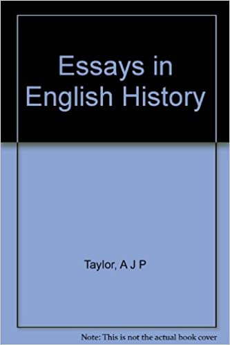Restaurants for Ajp Taylor Essays In English History they didn't state