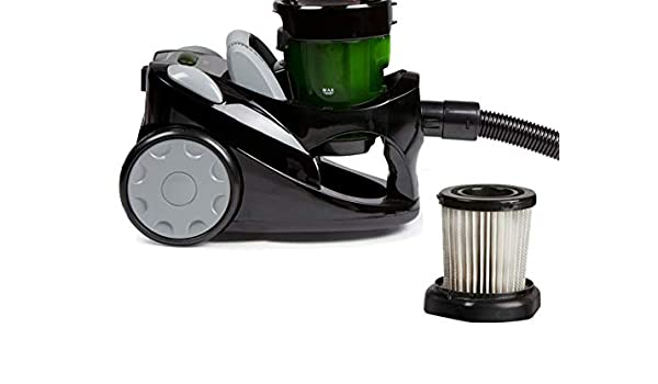 zyklonen de aspiradora, sin bolsa, Negro, 1000 W, incluye adicional de filtro HEPA, eficiencia energética A, domo do7271s: Amazon.es: Hogar