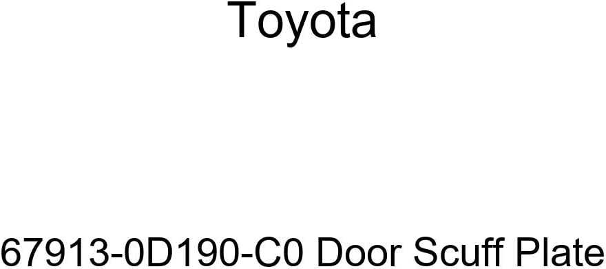 TOYOTA Genuine 67913-0D190-C0 Door Scuff Plate