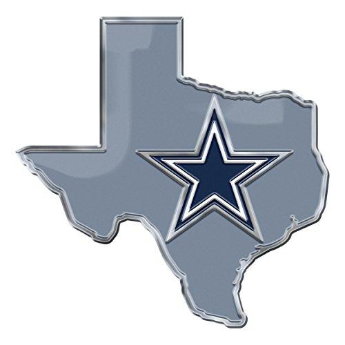 NFL Dallas Cowboys State Emblem, Blue, (Emblem Standard)