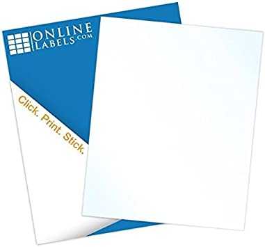 It is a picture of Glossy Printable Sticker Paper pertaining to self adhesive