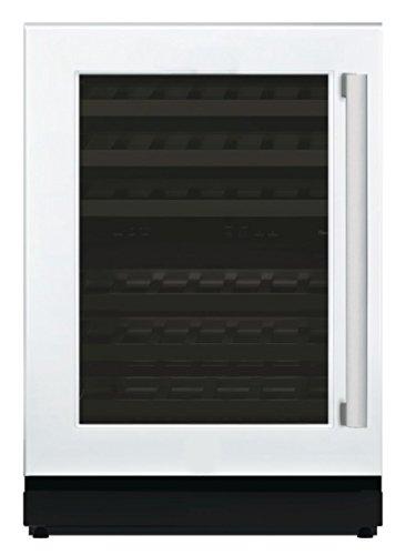 24'' Glass Door Wine Reserve Left Hinge Custom Panel Ready (Custom Panel Door)