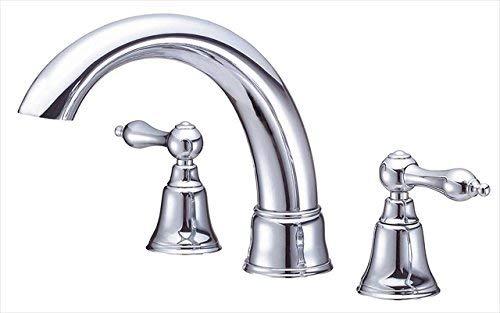(Danze D308840T Fairmont Two Handle Roman Tub Faucet Trim Kit, Valve Not Included, Chrome )