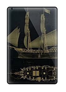 Snap-on Assassin's Creed 4 Black Flag Jackdaw Cases Covers Skin Compatible With Ipad Mini