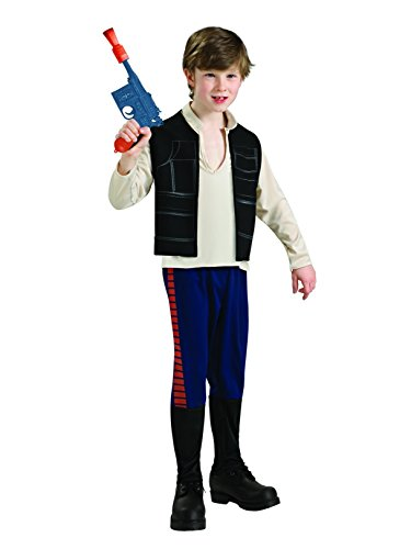 Rubie's Star Wars Classic Child's Deluxe Han Solo Costume, Large ()