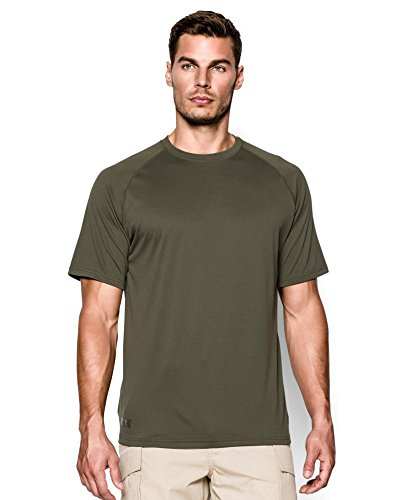 Under Armour Men's Tactical Tech, Marine Od Green/Clear,