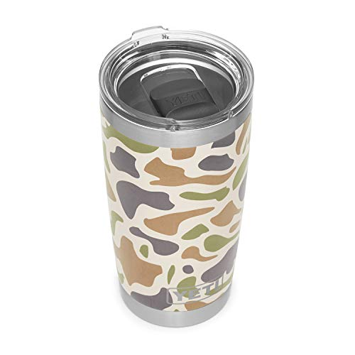 tainless Steel Vacuum Insulated Tumbler w/MagSlider Lid, Camo ()