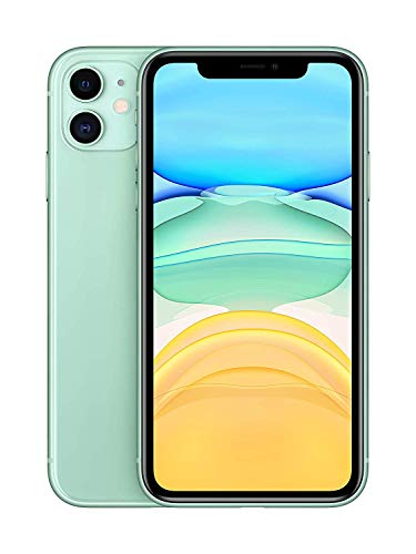 Apple iPhone 11 with Facetime – 64GB, 4G LTE, (2020 – Slim Packing ) Green – International Version