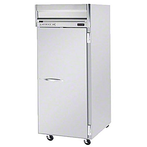 Beverage-Air HFP1W-1S Horizon Series One Wide Section Solid Door Reach-In Freezer 34 cu.ft. Capacity Stainless Steel Front and Sides Aluminum