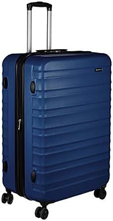 AmazonBasics Hardside Trolley Luggage -  28-Inch, Navy Blue