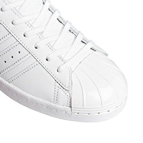 ADIDAS Superstar 80s Metal Toe Damen Sneaker Weiß S76540 - 42 EU