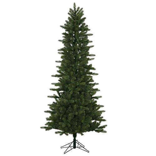 Vickerman 65' Unlit Kennedy Fir Artificial Christmas Slim Tree (Christmas Unlit Artificial Slim Trees)