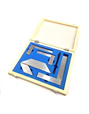 Starter Engineer Kit (Try Squares, Center Squares & Carbide Scriber Pen) //Wooden Packaging
