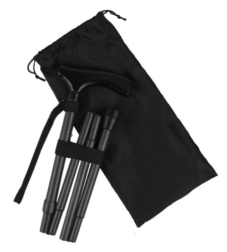 Ez2care Classy Adjustable Folding Cane w - Metallic Folded Shopping Results