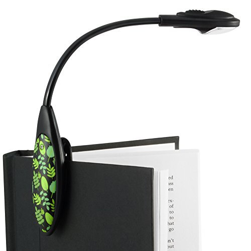 The Little Book Light Clip On LED Reading Light - Green / Black