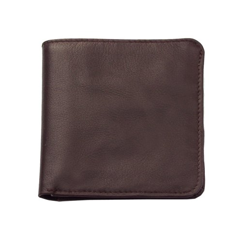 Piel Hipster Wallet - Piel Leather Hipster, Chocolate, One Size