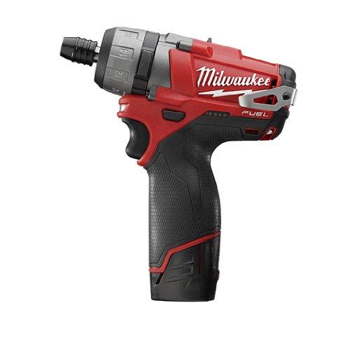Milwaukee 2402-22 M12 Fuel 1/4 Hex 2-Spd Screwdriver Kit