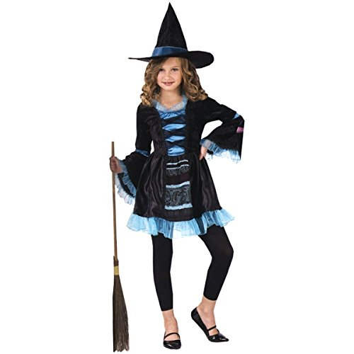 Blue Witch Costumes For Kids (Costumes For All Occasions Fw121282Sm Victorian Witch Child 4-6)