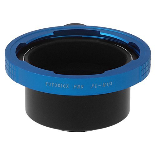 Fotodiox Pro Lens Mount Adapter - Arri PL (Positive Lock) Mount Lens Micro Four Thirds (MFT, M4/3) Mount Mirrorless Camera Body by Fotodiox