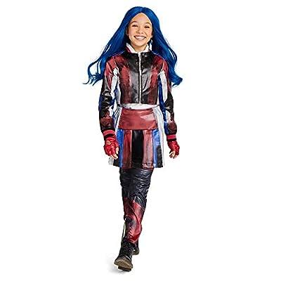 Disney Evie Costume for Kids - Descendants 3 Size Blue: Clothing