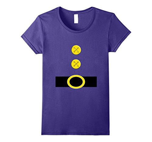 Fairy Halloween Costume College (Womens Halloween Dwarf Costume Preschool Teacher Gift Shirt Medium Purple)