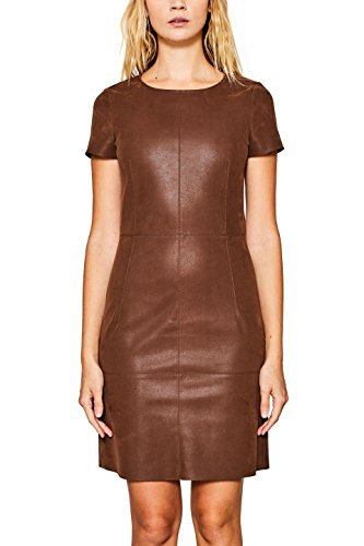 ESPRIT Damen Collection Toffee 225 Partykleid Braun wqq0TxgrP