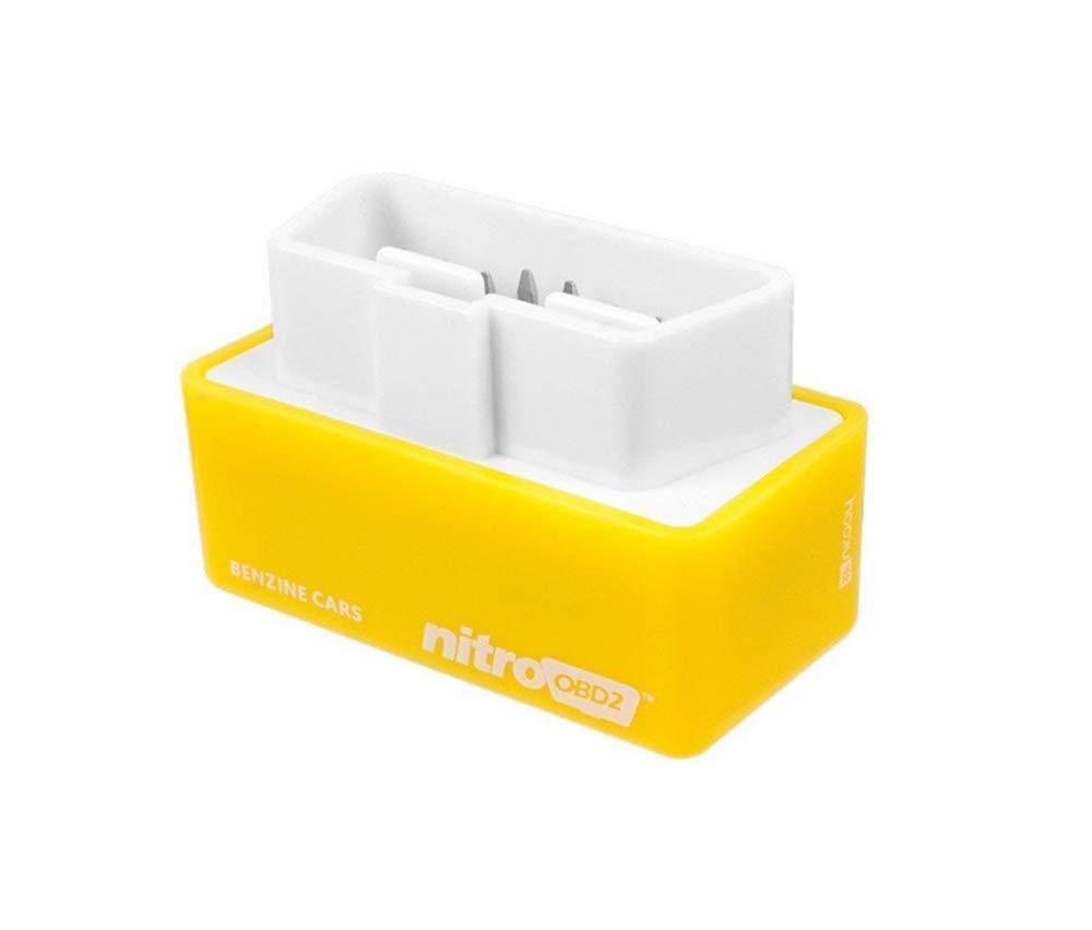 gelb Nitro OBD2 OBD2 Diesel Regulator Chip Tuning Box Eco OBD2 Mehr Power und mehr Drehmoment Plug and Play Performance Tuning Box f/ür Dieselautos General Purpose Model 1996 NitroOBD2