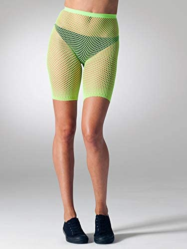 Gipsy Fishnet Shorts-One Size-Neon Pink