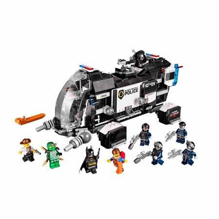 LEGO Movie Super Secret Police Dropship
