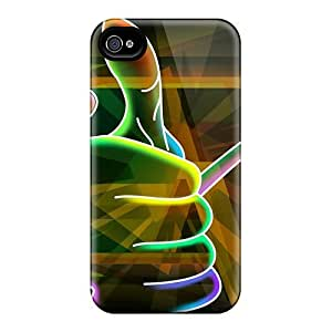 Defender Cases With Nice Appearance (3d Neon Colorful 25) For Iphone 6