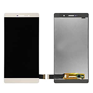 Replacement Repairing Parts Digitizer + LCD Display Screen Assembly for Huawei P8 MAX White