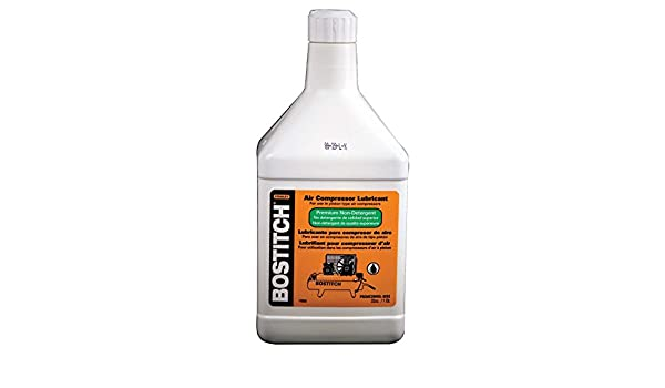 Bostitch Stanley PRECOMOIL-32oz 32 Oz Air Compressor Lubricant - - Amazon.com