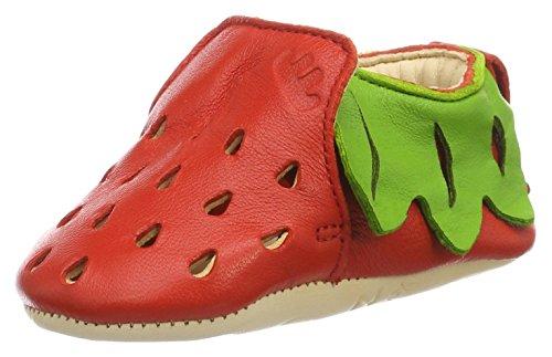 Easy Peasy Blumoo Fraise, Zapatillas de casa Bebé-Niños Rojo (lipstick/vert)