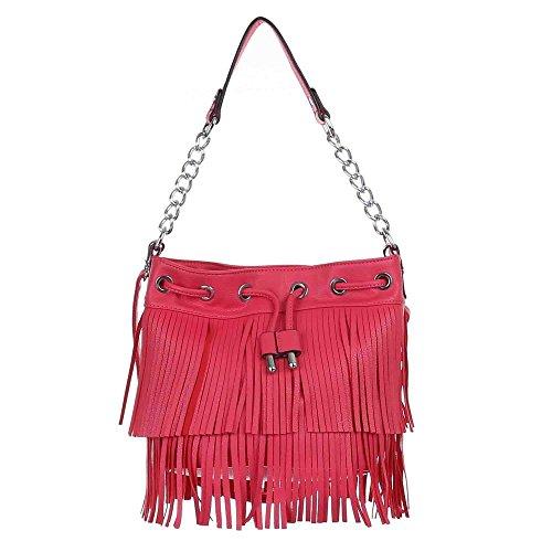 Ital-DesignSchultertasche bei Ital-Design - Bolso de hombro Mujer Rosa - rosa
