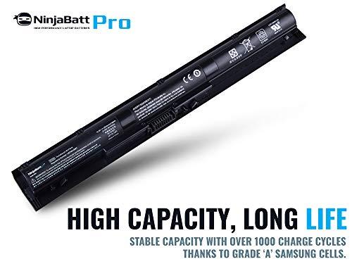 NinjaBatt Pro Battery for HP KI04 800049-001 TPN-Q160 TPN-Q158 TPN-159 TPN-Q161 TPN-Q162 HSTNN-LB6R HSTNN-DB6T HSTNN-LB6S 800010-421 – Samsung Cells [4 Cells/2600mAh/38Wh] by NinjaBatt (Image #2)