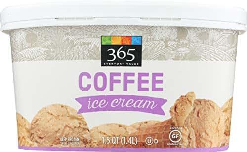 365 Everyday Value, Coffee Ice Cream, 48 oz (Frozen)