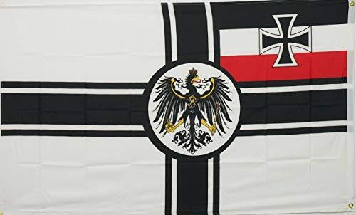 Mikash 5x8 German Deutsch Reich Imperial Germany WW1 Historical Naval Flag 5x8 Banner | Model FLG - 3667