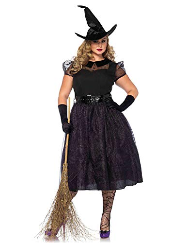 3x Halloween Costume Womens (Leg Avenue Women's Costume, Black,)