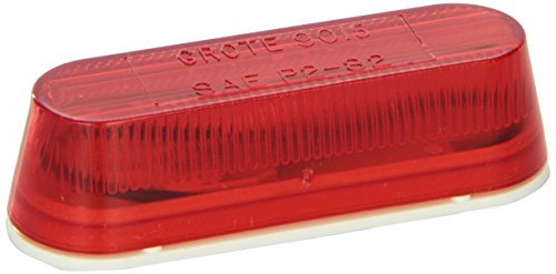 Grote Lens (Grote 45252 Thin-Line Single-Bulb Clearance Marker Light)