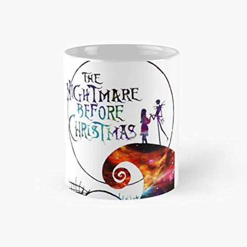 The Nightmare Before Christmas Mug, the nightmare before christmas Funny Mugs, 11 Ounce Ceramic Mug, Perfect Novelty Gift Mug, Tea Cups, Funny Coffee Mug 11oz, Tea -