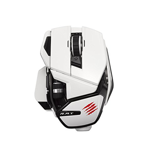 Mad Catz Office R.A.T. Wireless Mouse for PC and Android - White