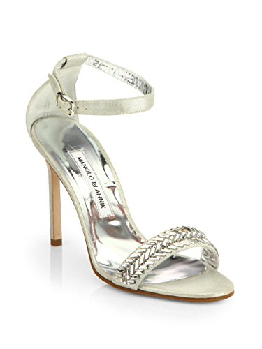 manolo-blahnik-metallic-leather-ankle-strap-sandals-size-9us-39eur