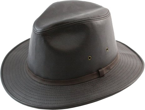 Henschel Hats SAFARI Smooth Garment LEATHER Lined Fedora Hat Black at  Amazon Men s Clothing store  832ef1bc8cd8