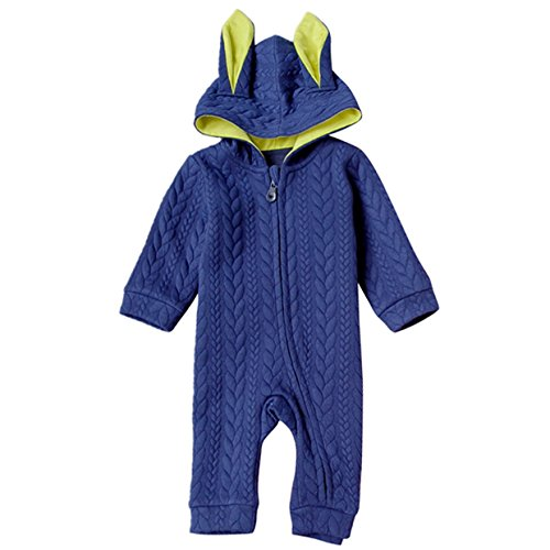 Hooded Kids Coverall - 8