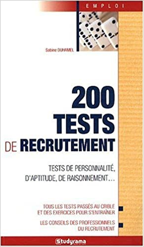 Lire 200 tests de recrutement pdf