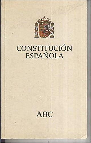 Constitucion española: Amazon.es: Varios: Libros