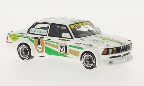 Bmw 323i Ground (BMW 323i Gr.2 (E21), No.220, Moutarderie, Youngtimer Trophy, Hockenheim, 2012, Model Car, Ready-made, Neo 1:43)