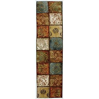Amazon Com Mohawk Home Free Flow Artifact Panel Multi Rug