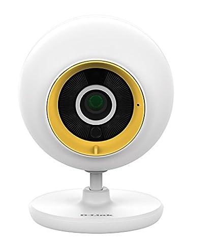 D-Link DCS-800L - Cámara de vigilancia Wi-Fi para bebé,